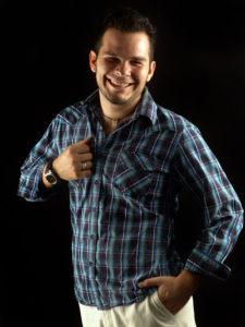 Carlos Fontes azul